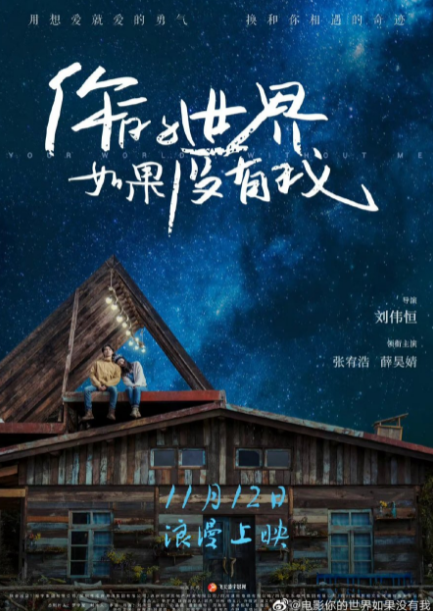Your World Without Me cast: Marco Zhang, Xue Hao Jing, Wong Yat Fei. Your World Without Me Release Date: 12 November 2021. Your World Without Me.